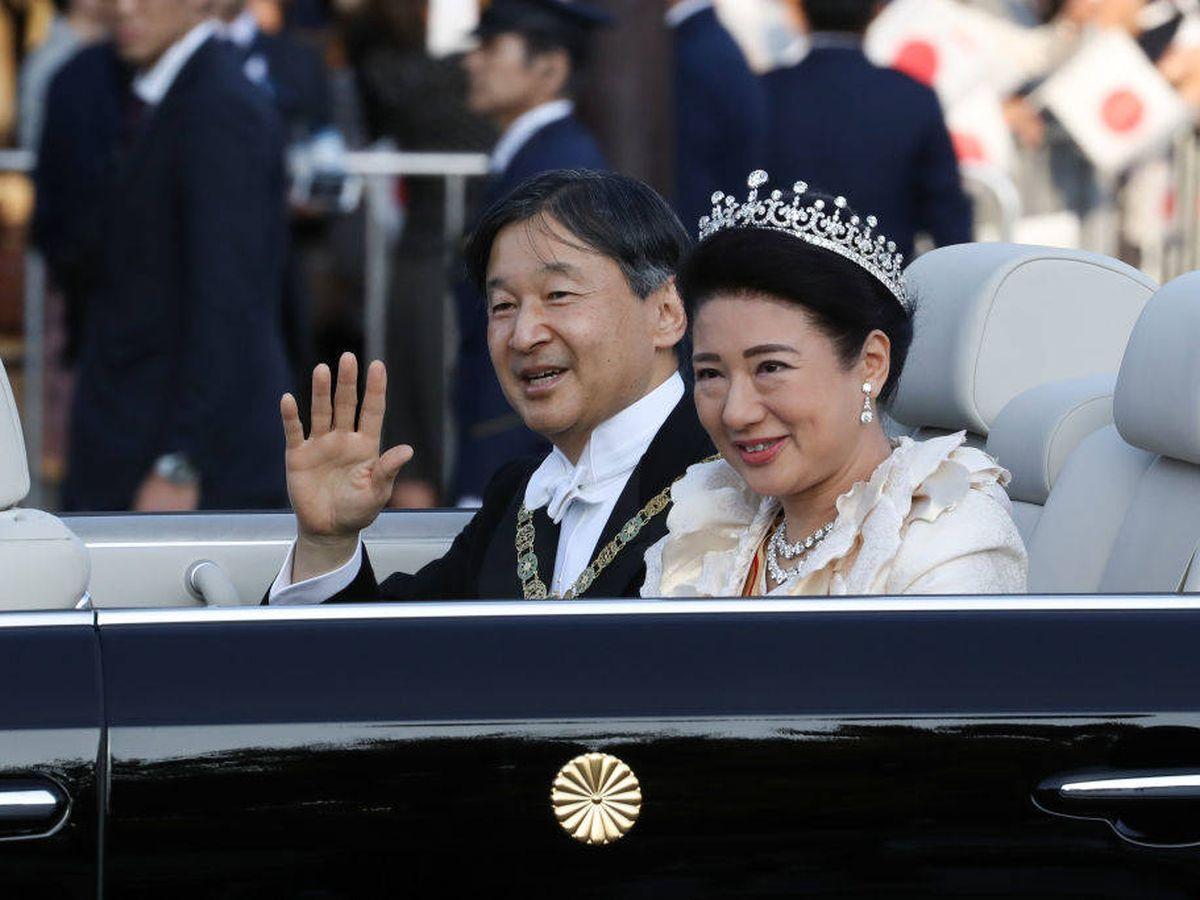 Foto:  Naruhito y Masako, en una imagen de archivo. (Getty)