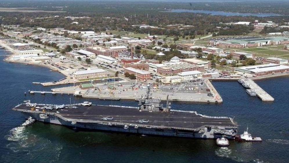 Foto: Imagen de la base aérea naval de Pensacola (Florida).