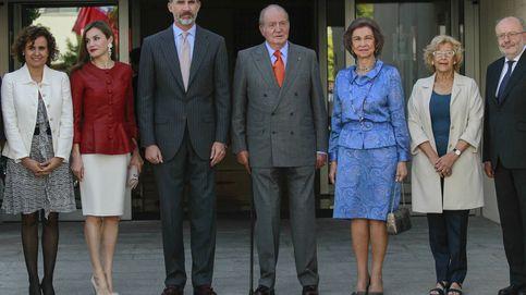 Póker de reyes (también los eméritos) en el aniversario de la Fundación Reina Sofía
