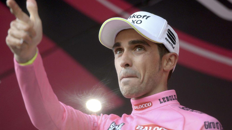 Foto: Contador dispara la primera bala en el Giro para ser recordado eternamente