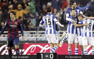 Un Barça desquiciado no supo ni empatar ni ganar a la Real Sociedad