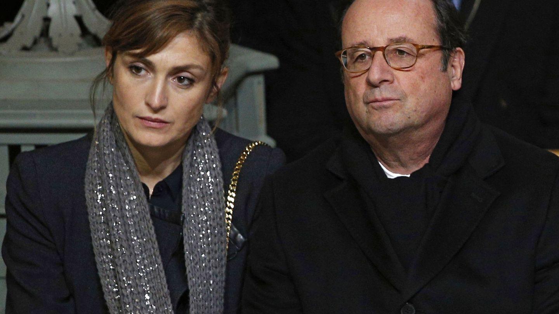 Julie Gayet y el expresidente francés, en una imagen de archivo. (EFE)