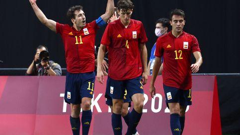 La Selección de fútbol juega con fuego, pero Oyarzabal encarrila el pase a cuartos (0-1)