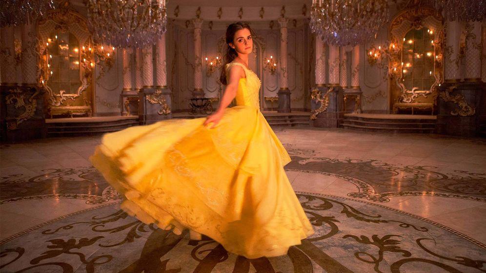 Foto: Emma Watson, en el papel de Bella.