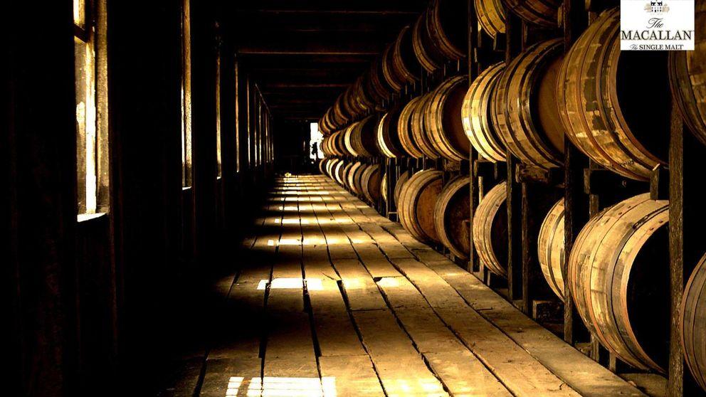 Barricas de Jerez  de roble español,  la mejor madera de un buen whisky