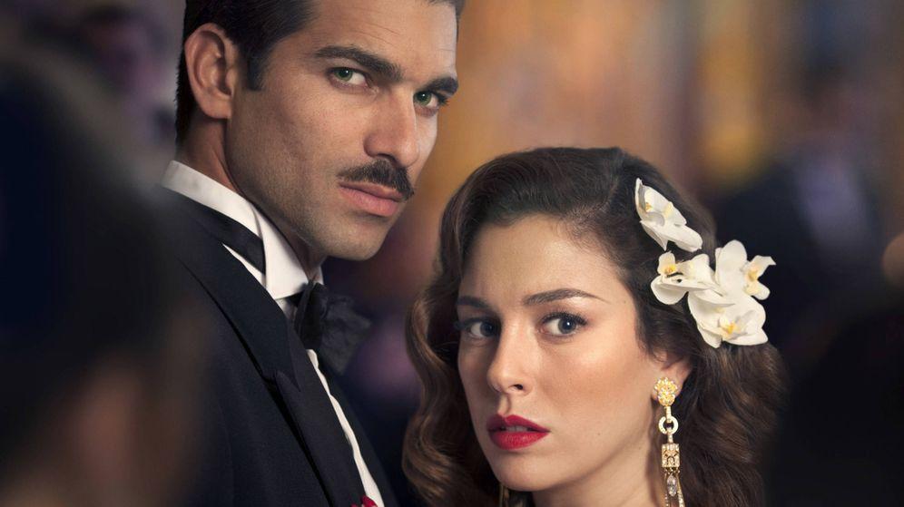 Foto: Rubén Cortada y Blanca Suárez, protagonistas de 'Lo que escondían sus ojos'.