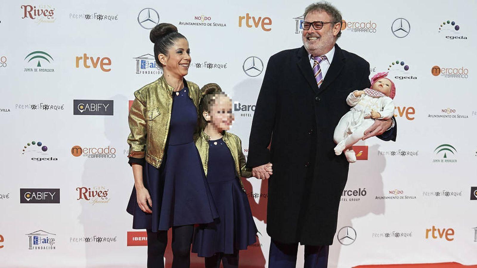Foto: Pablo Carbonell, junto a su hija Mafalda. (Getty)