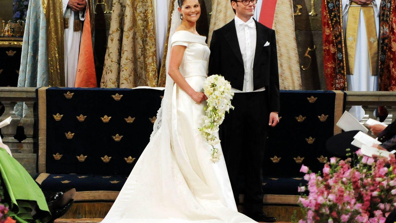 La princesa Victoria y Daniel Westling. (Getty)