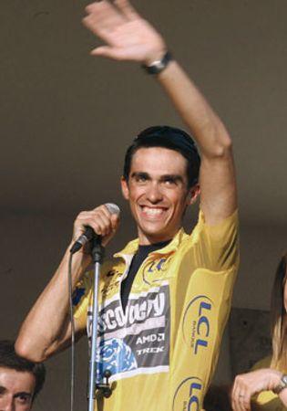 Foto: Contador, único representante español en los Laureus de San Petersburgo
