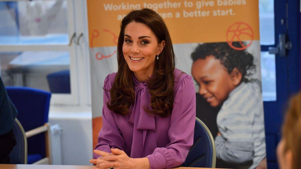 Foto: La duquesa de Cambridge en su visita al centro Henry Fawcett. (Reuters)