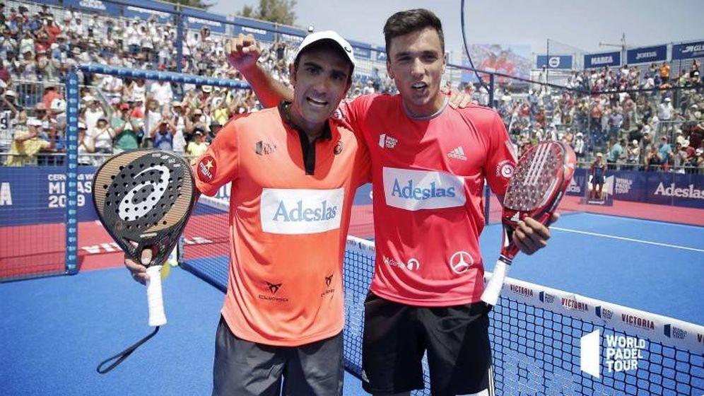 Foto: Galán y Lima están intratables. (Foto: WPT)