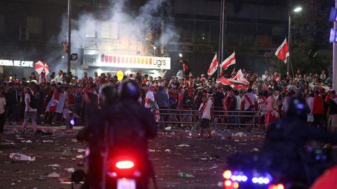 Disturbios en Argentina: hinchas de River lanzan piedras tras ganar la Libertadores