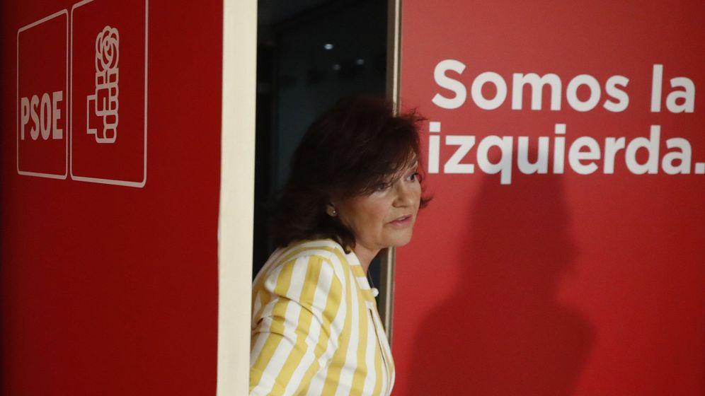 Foto: Carmen Calvo. (EFE)