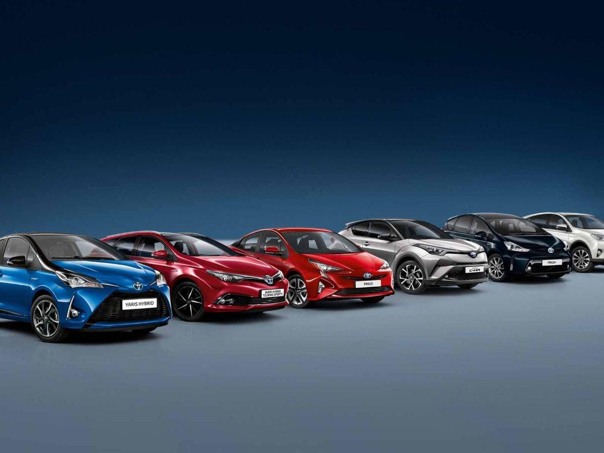 Foto: Salvo las últimas novedades, el resto de la gama híbrida ya está disponible con Toyota Ocasión.