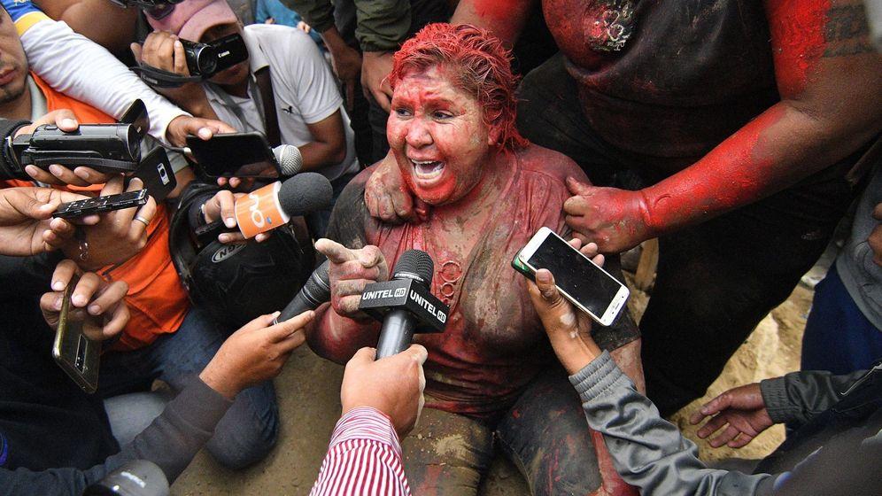 Foto: La alcaldesa de Vinto, Patricia Arce. (EFE)