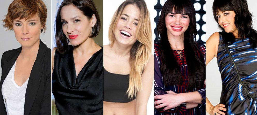 Foto: Sandra Barneda, Natalia Millán, Alyson Rae Eckmann, Beatriz Montañez y Yolanda Ramos.