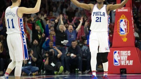 Embiid o cómo conquistar la NBA seis años después de descubrir el baloncesto