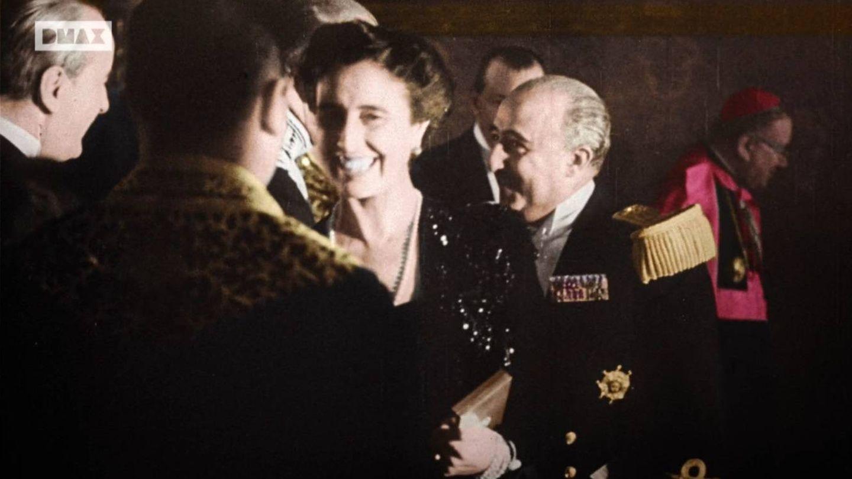 Los Franco, en una recepción.