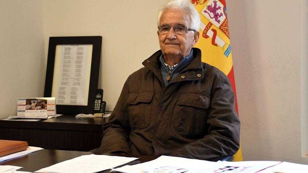 Foto: Ricardo Díez (PP), con 89 años, es el alcalde más veterano de España. (EFE)
