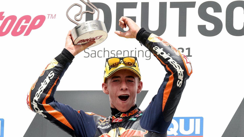 Pedro Acosta a sus escasos 16 años está revolucionando el mundial de Moto3