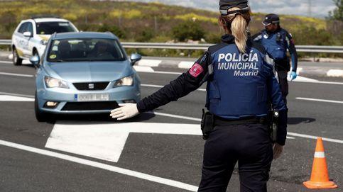 Requisan 530 mascarillas al pasajero de un taxi en Madrid al no acreditar su procedencia