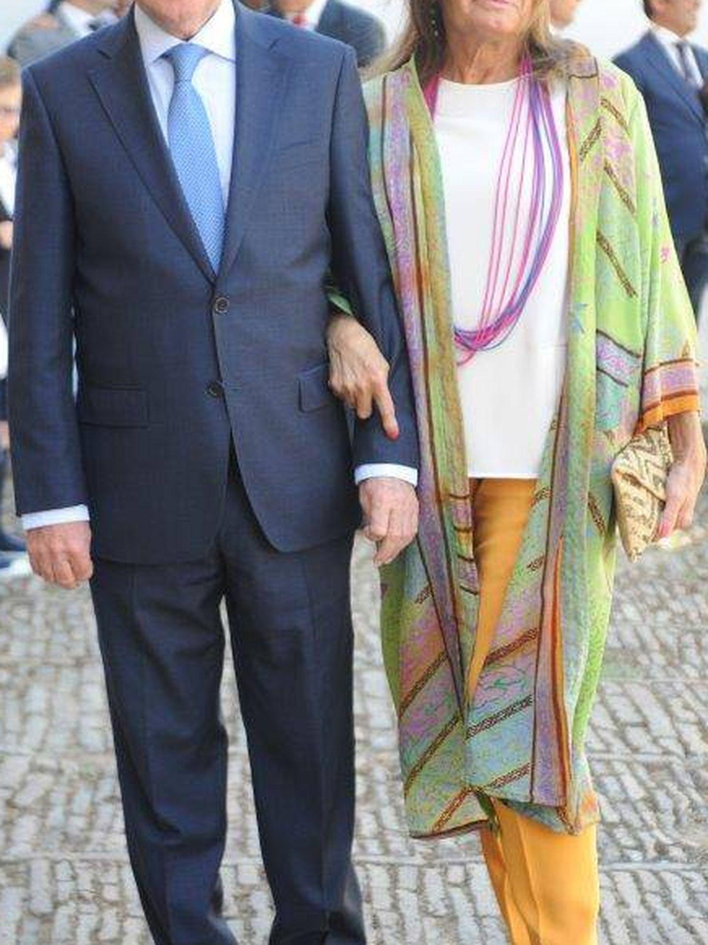 Curro Vázquez y Paty Dominguín. (Sevilla Press)
