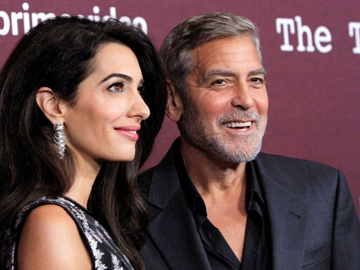 Foto: George y Amal Clooney. (EFE)