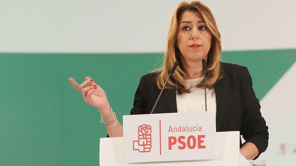 Foto: La presidenta de la Junta de Andalucía. (EFE)