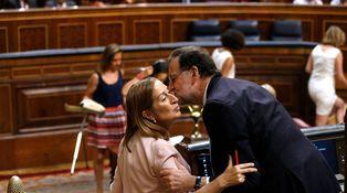 Y el espíritu de Rajoy se hizo presente