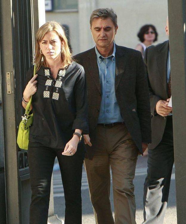 Foto: Carme Chacón y su marido, Miguel Barroso (EFE)