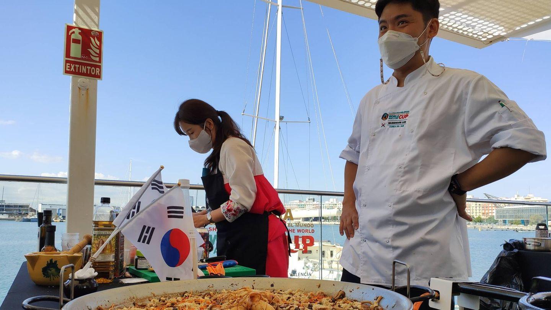 Concursante coreano. (FSB)