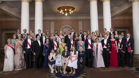 Gran despliegue de royals en Noruega sin representación española