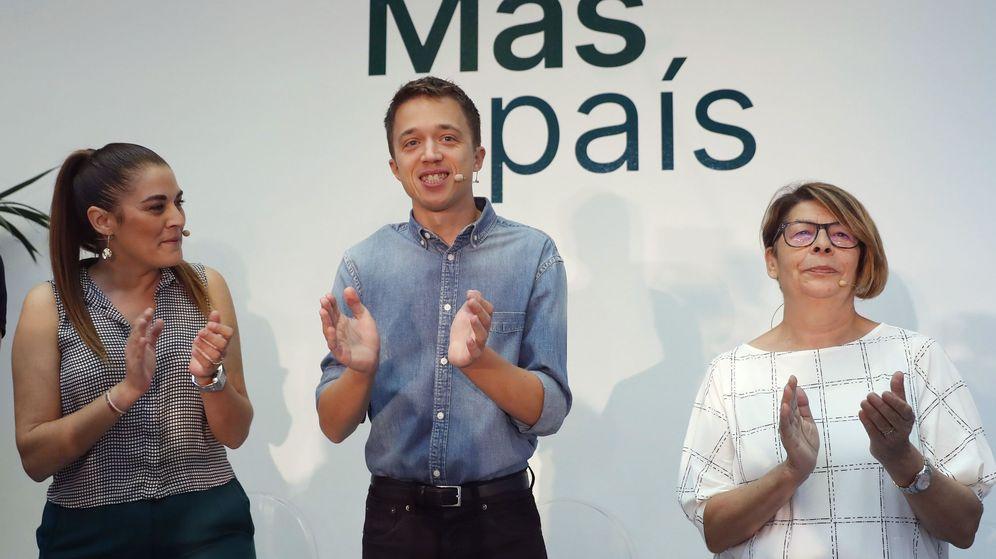 Foto: Íñigo Errejón junto con Inés Sabanés. (EFE)