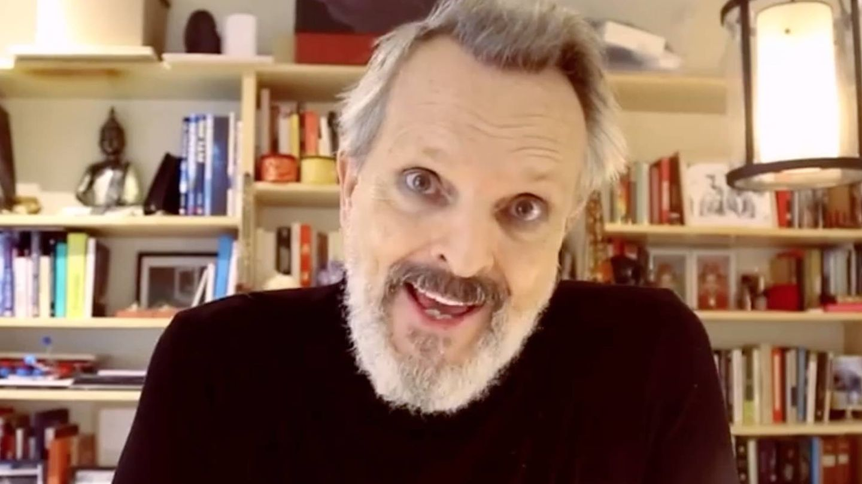 Miguel Bosé, en sus vídeos negacionistas. (Redes)