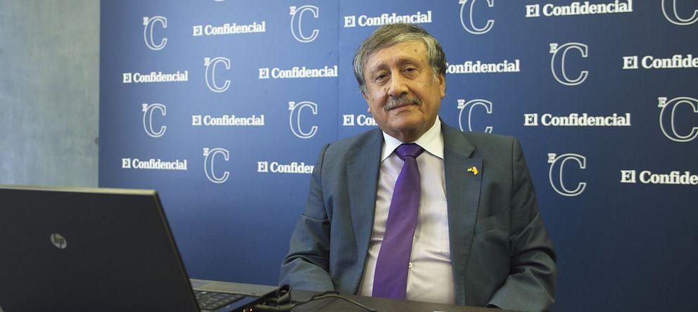 Foto: Musa Amer Odeh, en la redacción de 'El Confidencial' (Daniel Muñoz)