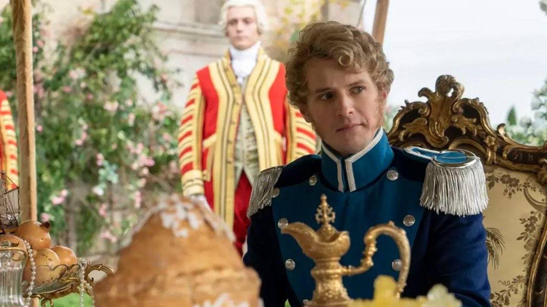 El príncipe Federico de Prusia en 'Los Bridgerton', interpretado por Freddie Stroma. (Netflix)
