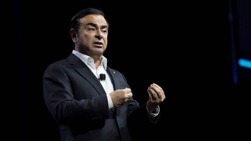 Foto: Carlos Ghosn fue el que creó la alianza Renault-Nissan, uniendo posteriormente Mitsubishi.