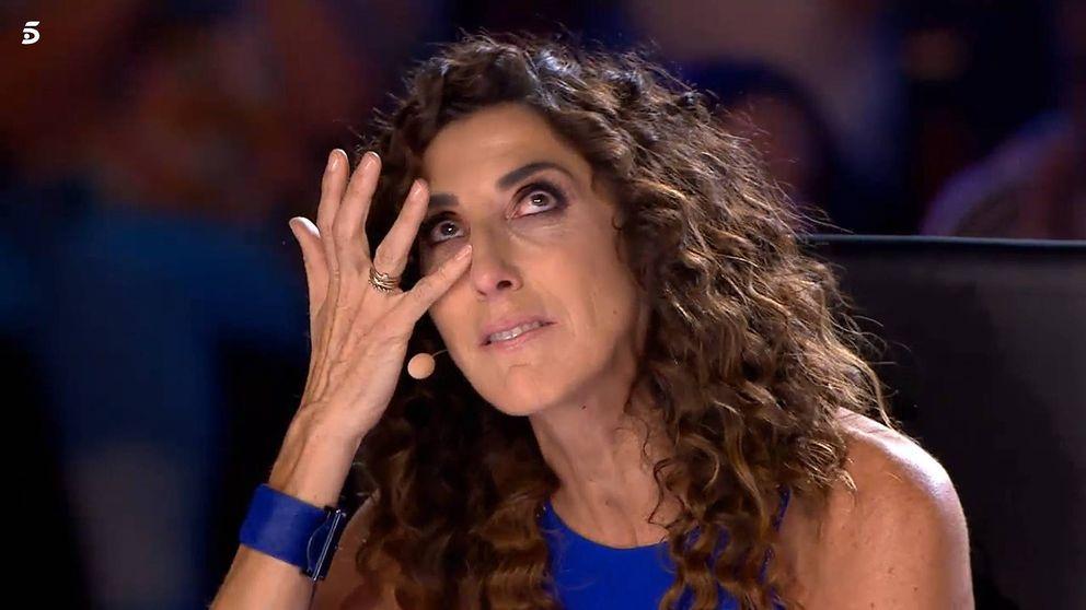 'Got Talent'   Sara, 'la mujer de hojalata', deja a Paz Padilla muda: No puedo hablar