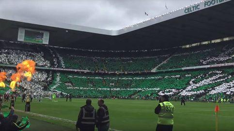 El Celtic, ganador del 'The Best' a mejor afición del año por un tifo a 360º