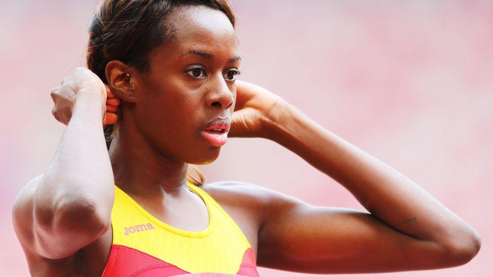 Foto: Aauri Bokesa, durante el campeonato del mundo de la Asociación Internacional de Federaciones de Atletismo en Pekín en 2015 | Foto: EFE
