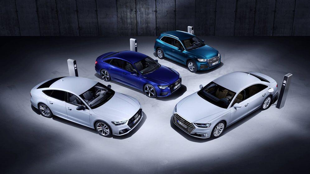 Foto: Los nuevos híbridos enchufables de Audi se estrenarán oficialmente en el Salón de Ginebra.