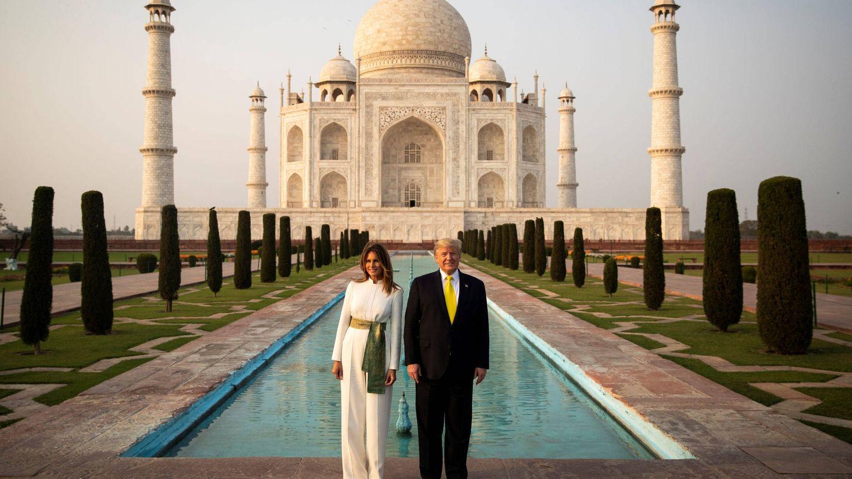 Donald Trump y Melania Trump. (Reuters)