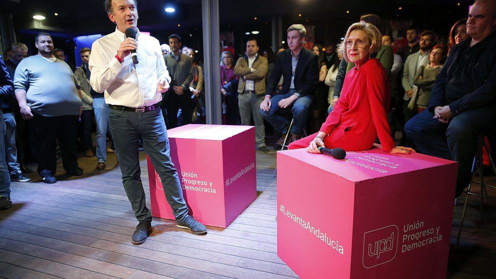 UPyD también quiere controlar la sucesión tras el desastre andaluz