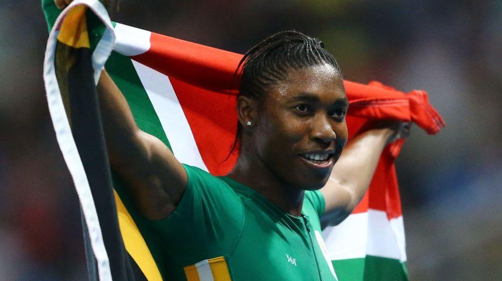 Foto: Caster Semenya, oro en 800m (David Gray/Reuters).