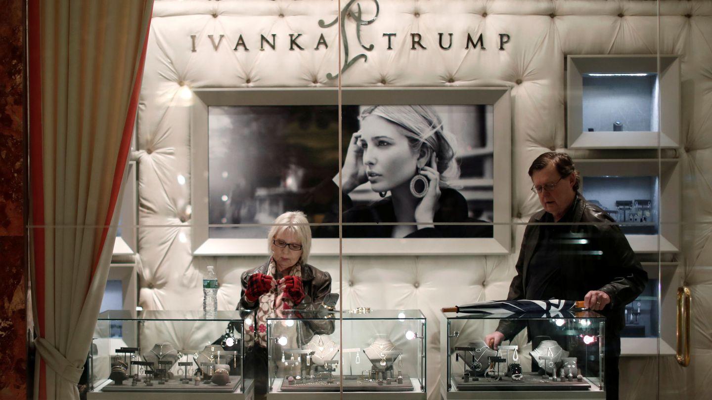Las rebajas en la tienda de Ivanka Trump. (Reuters)