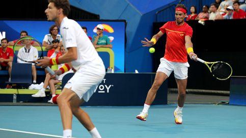España - Bélgica en la ATP Cup: horario y dónde ver a Rafa Nadal en TV y 'online'
