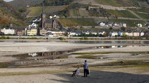 La peor sequía alemana deja al Rin sin gasolina