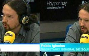 TVE nombra a Pablo Iglesias secretario general del PSOE e IU