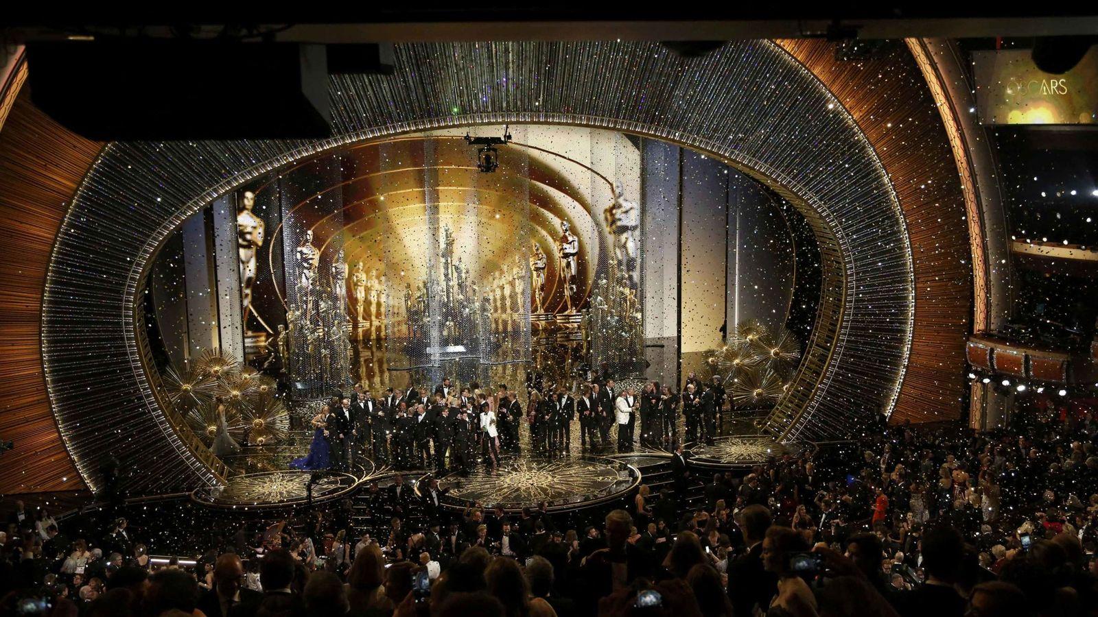 Foto: Final de la gala de los Oscars 2016 (Reuters)