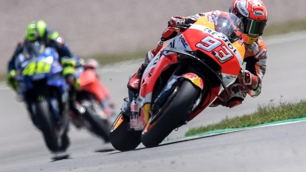 Foto: Márquez domina en el GP de Alemania. (EFE)